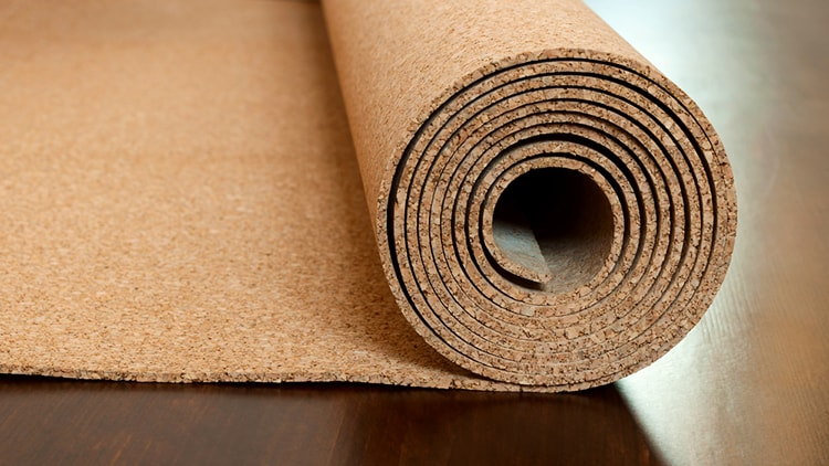 Cork is affordable and durable as a kitchen flooring.