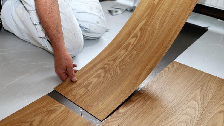 Vinyl flooring for the kitchen