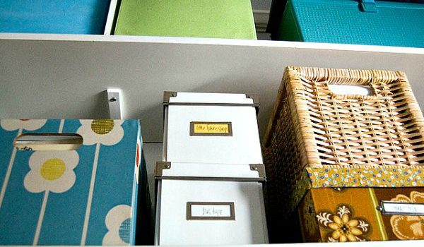 Storage boxes for organizing your home