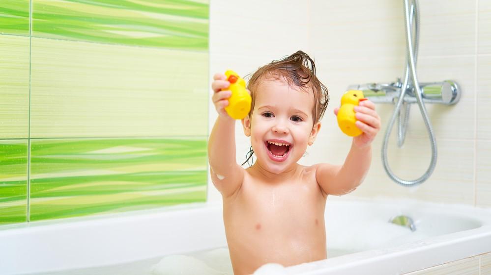 Make the bathroom safer for kids!