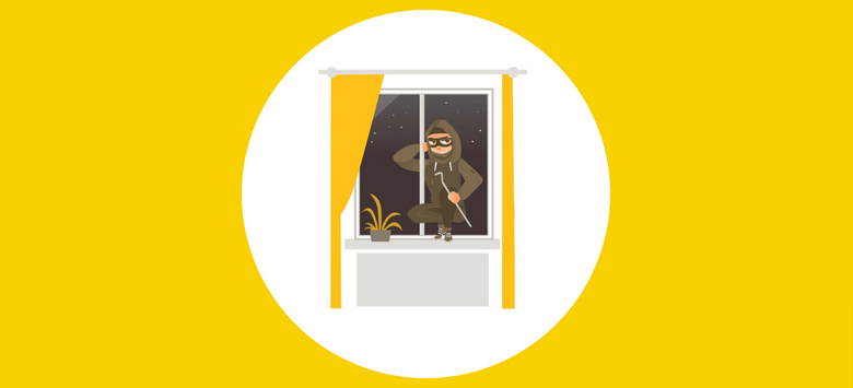 How to protect your home from burglars from the outside
