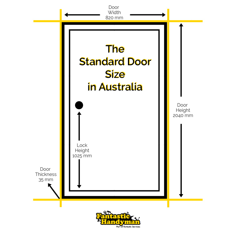 The Standard Door Sizes in Australia | Fantastic Handyman Australia