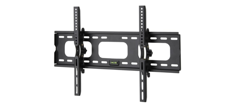 A low-profile tv wall mount bracket.