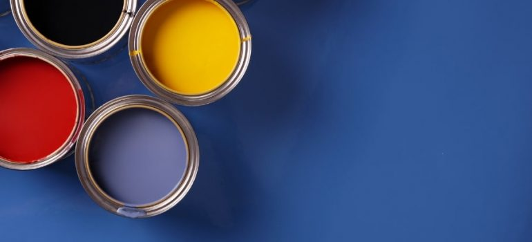 The different types of interior and exterior paints and where you should use them.