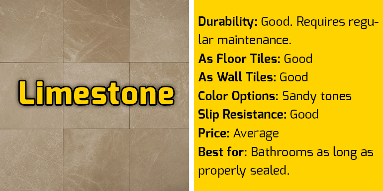 Limestone Specifications