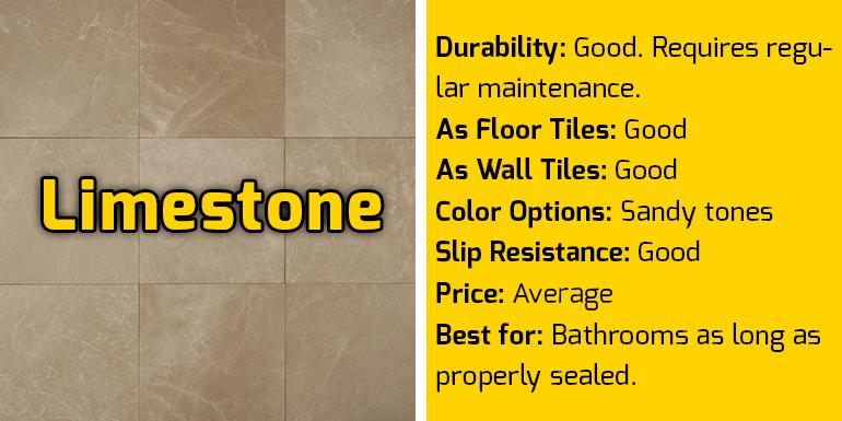Limestone Specifications