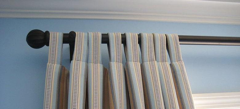 Striped Tab Top Curtains