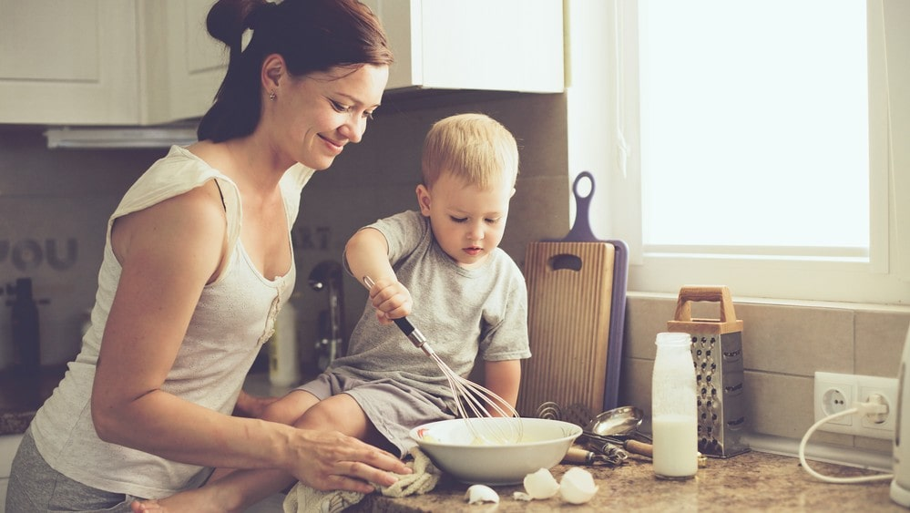 Childproof kitchen for your kids and make it a safe place!
