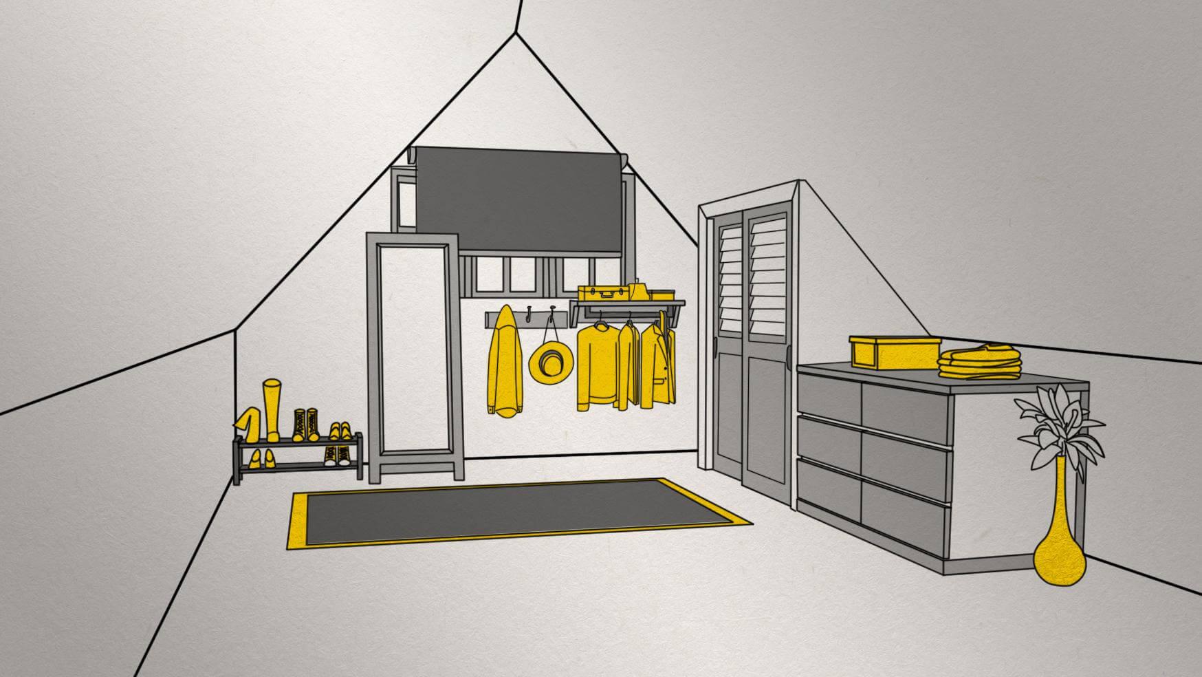 Transform your attic into a guestroom